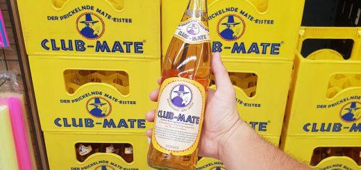 Club-Mate, German energy drink in Berlin based on South American yerba mate plant