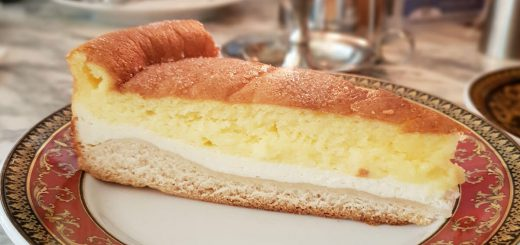 Eierschecke, layered cheesecake specialty from Dresden, East Germany