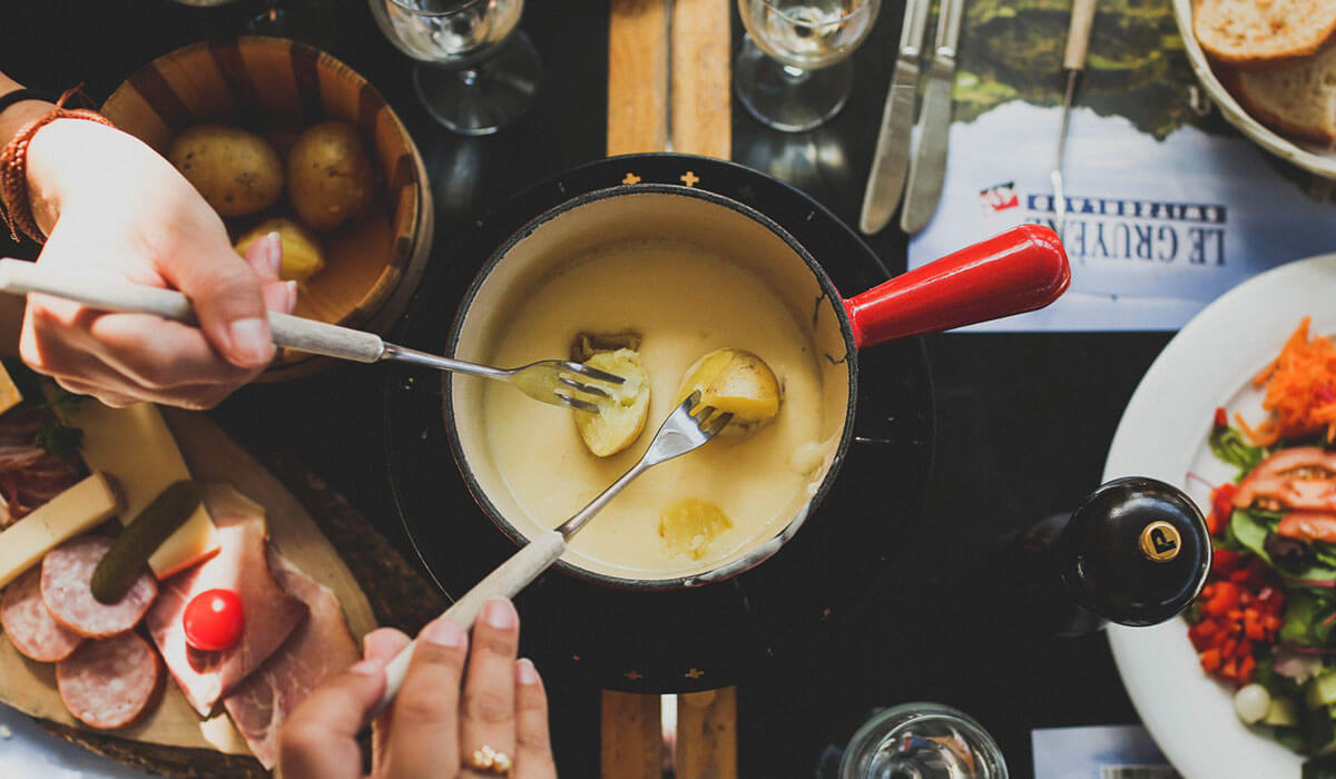 Fondue: Because Anything Dipped In Melted Cheese Is Pure Heaven