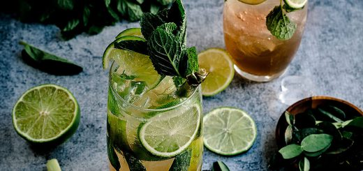Best traditional summer drinks around the world: Mojito, Cuba's national drink with rum, lime and mint leaves